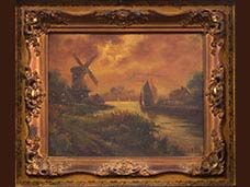 Nineteenth Century Oil Paintings, Circa 1870s